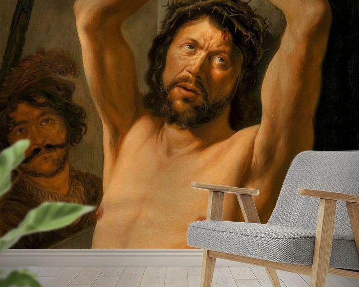 Beispiel fototapete: Christus an der Säule, Jan Lievens