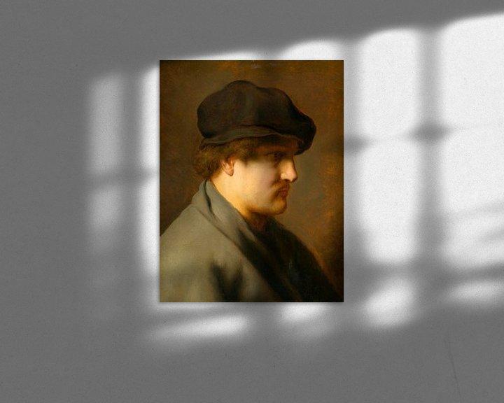 Beispiel: Junger Mann mit Baskenmütze, Jan Lievens