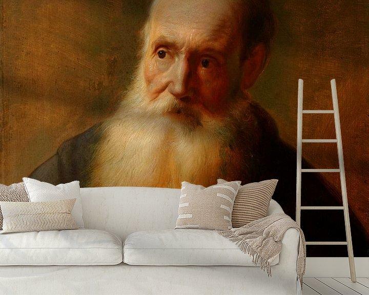 Beispiel fototapete: Becher eines alten Mannes, Jan Lievens