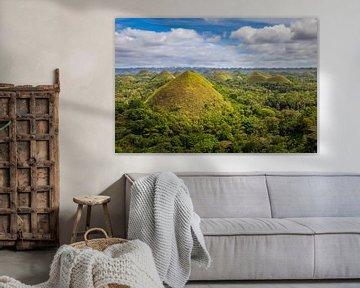 Chocolate Hills van Antwan Janssen
