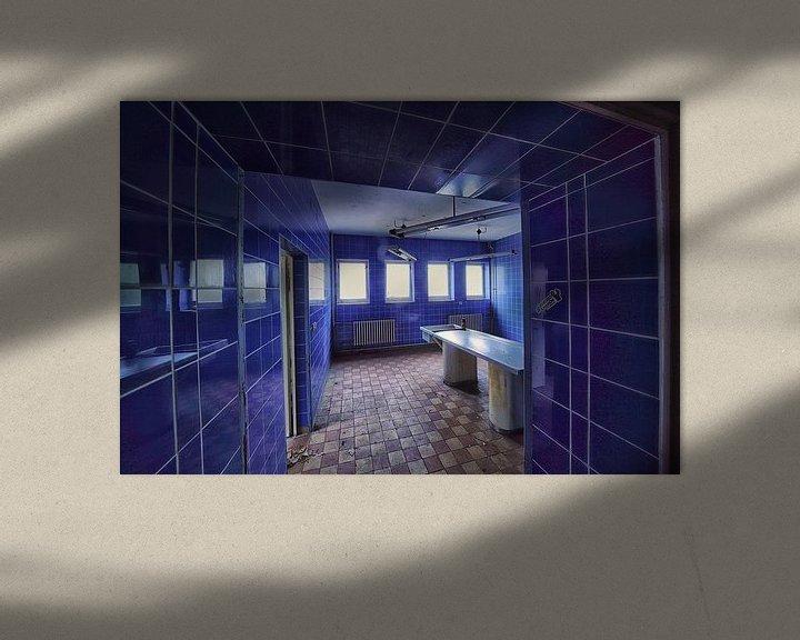Beispiel: Blue pathology von Marius Mergelsberg