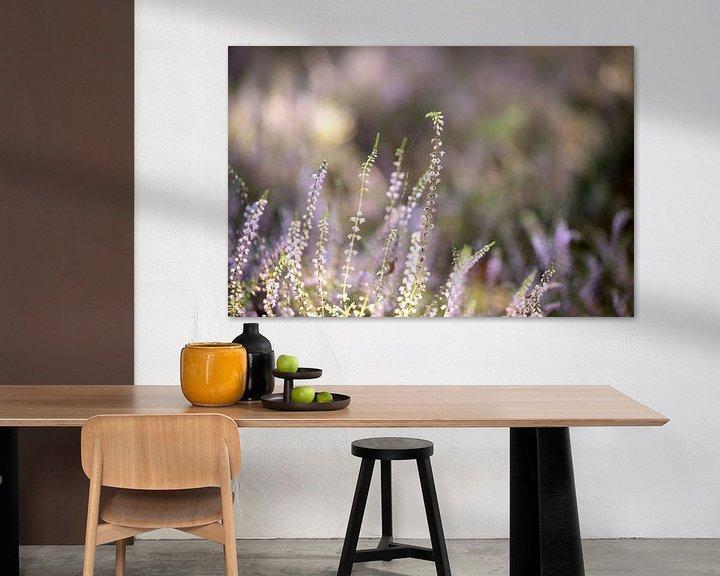 Sfeerimpressie: Bloeiende heide, gemaakt op de veluwe van Karijn   Fine art Natuur en Reis Fotografie