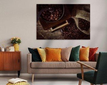 Malen van verse koffie van Oliver Henze