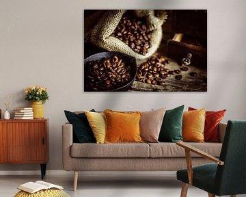 Geroosterde koffiebonen van Oliver Henze