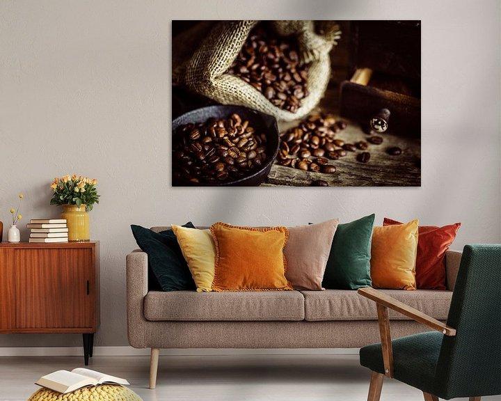 Sfeerimpressie: Geroosterde koffiebonen van Oliver Henze