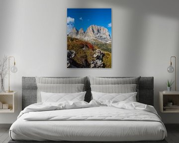 Langkofel - herkenningspunt van Zuid-Tirol