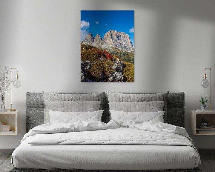 Beispiel: Langkofel - Wahrzeichen Südtirols von Rudolf Brandstätter