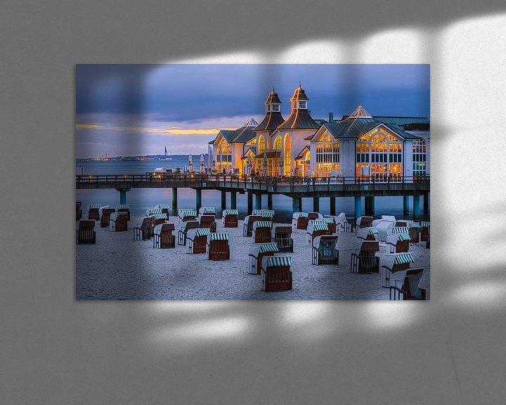Beispiel: Sunset Sellin Pier, Rügen, Deutschland von Henk Meijer Photography