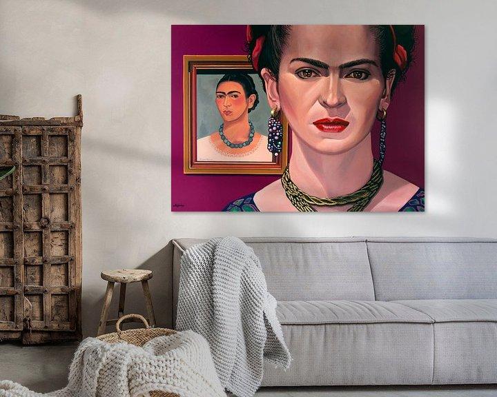 Beispiel: Frida Kahlo-Malerei von Paul Meijering