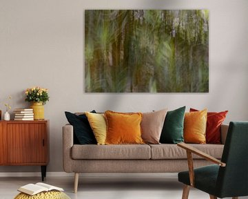 abstracte olijfboom van Tania Perneel
