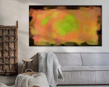 Orange-grüne Zusammenfassung von Maurice Dawson
