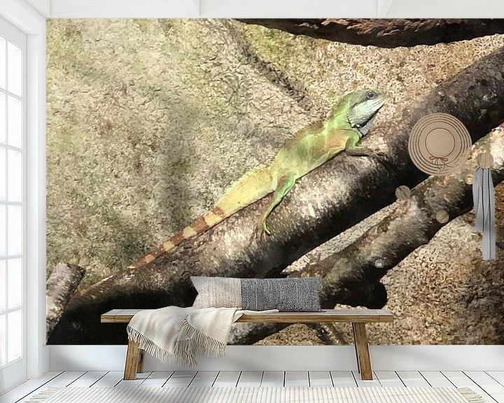 Beispiel fototapete: Reptil 4 von tania mol