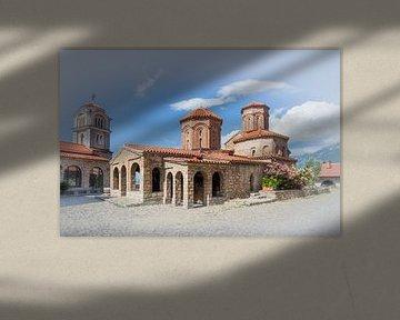 klooster van Sveti Naum van Antwan Janssen
