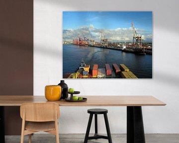 Rotterdam Hafen von Renate Knapp