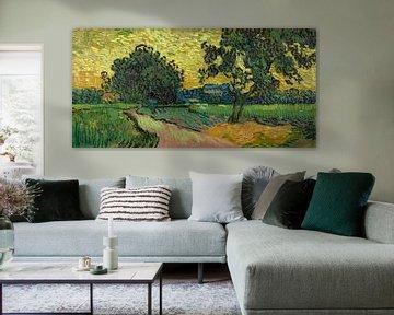 Landschaft in der Dämmerung, Vincent van Gogh