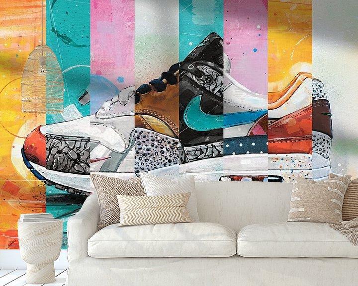 Beispiel fototapete: Nike air max 1 Parra x Atmos von Jos Hoppenbrouwers