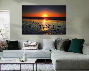 Coucher de soleil sur Sylt