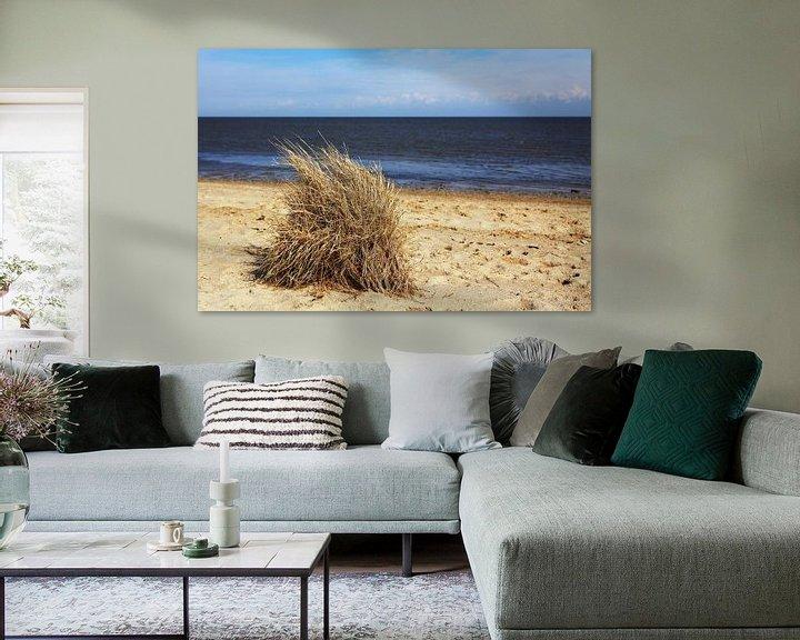 Sfeerimpressie: Grashoekjes op het strand van Frank Herrmann