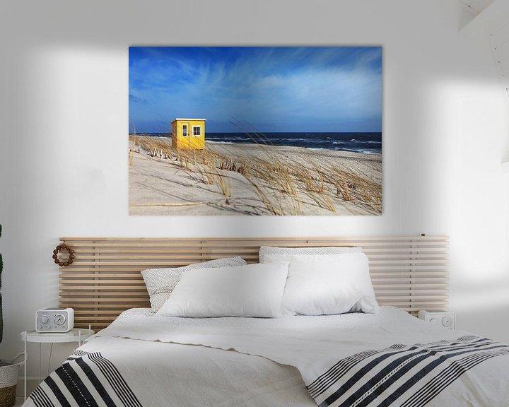 Beispiel: Hütte am Strand von Frank Herrmann