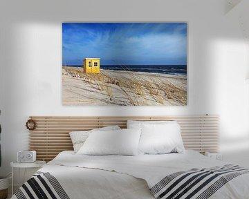 Chalet sur la plage