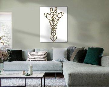 Giraffe van Arie de Korte