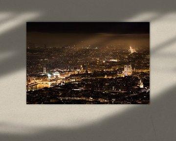 Parijs vanuit de lucht // Parijs, Frankrijk van PHOTORIK