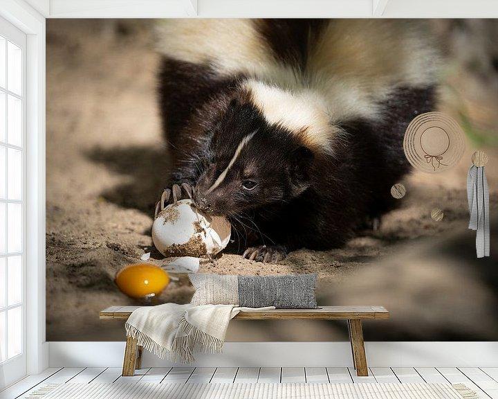Beispiel fototapete: Frühstück von Tierfotografie.Harz