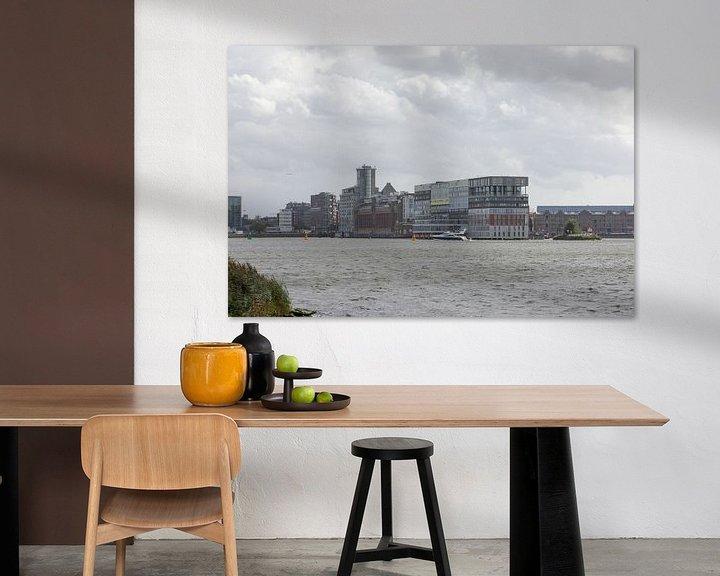 Sfeerimpressie: NDSM werf Amsterdam van denk web