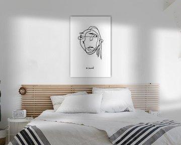 Portrait of a Woman – Mood Illustration No.01 von c.creates