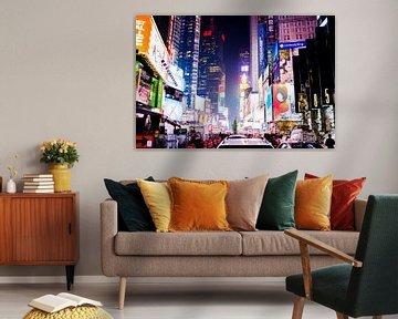 Times Square // New York, USA van PHOTORIK