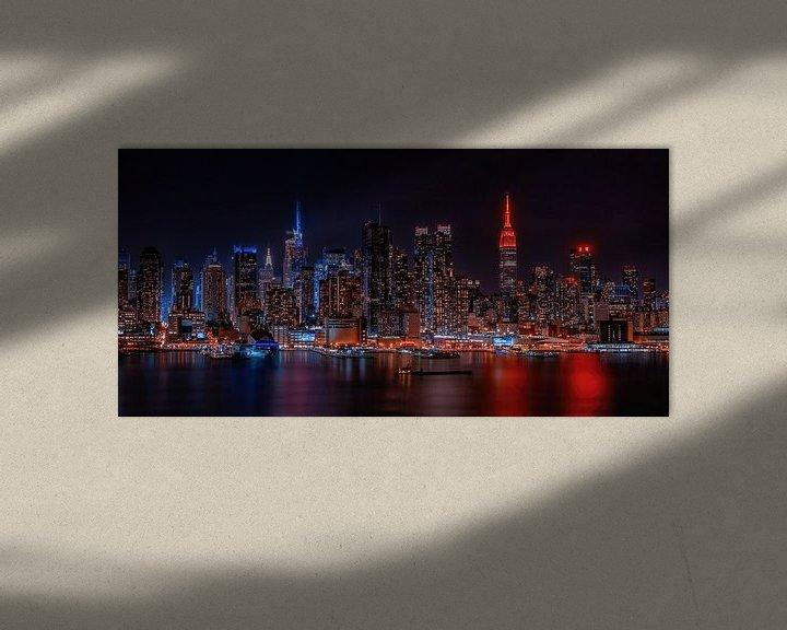 Impression: Le ciel de Manhattan sur Reinier Snijders