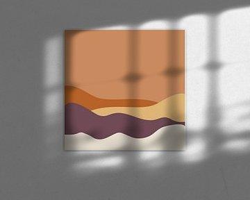 Wüstenhügel von Anne Dellaert