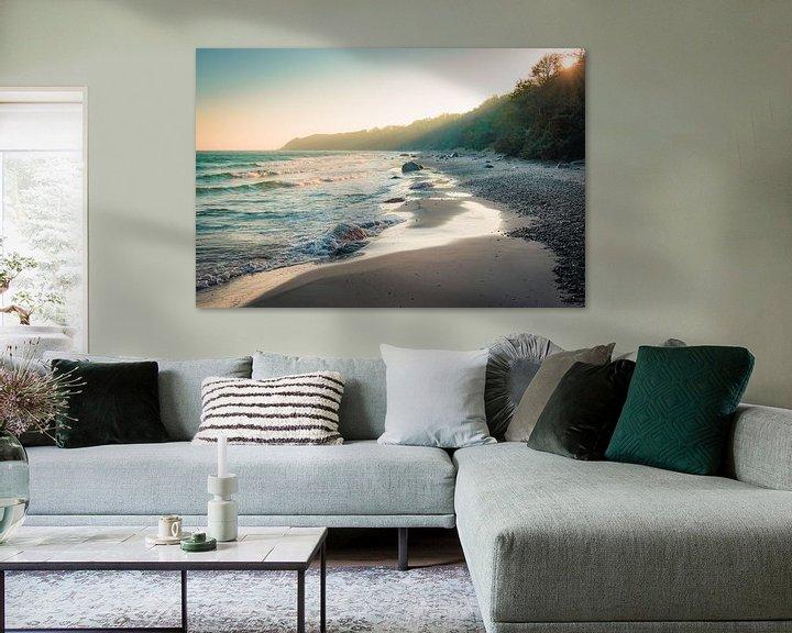 Beispiel: Sonnenaufgang an der Küste von Martin Wasilewski