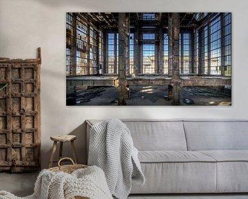 Die verlassene Fabrik von Frans Nijland