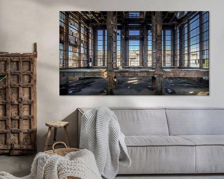 Beispiel: Die verlassene Fabrik von Frans Nijland