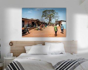 Bubaque eiland leven van Ellis Peeters
