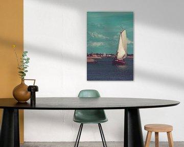 Zeilboot van JdvWFotografie
