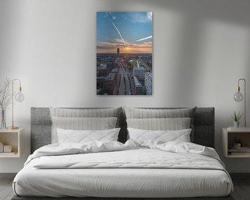 Zonsondergang Tilburg