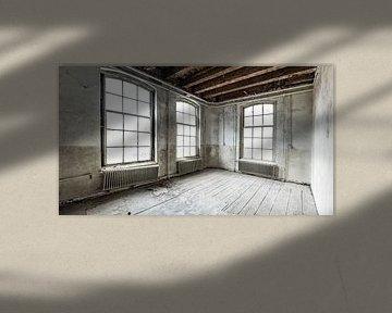 Verlaten schoolgebouw interieur met verval van Sjoerd van der Wal