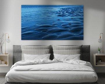 Nordsee am Abend von Susanne Begert