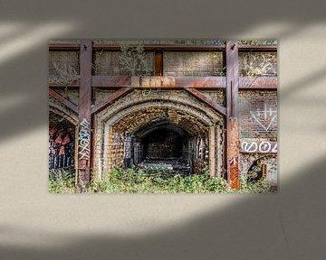 Oven van een oude steenfabriek van Ans Bastiaanssen
