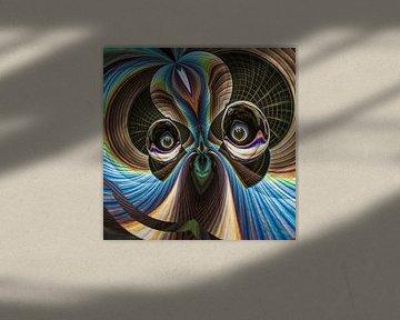 Phantasievolle abstrakte Twirl-Illustration 116/9 von PICTURES MAKE MOMENTS