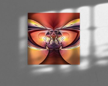 Phantasievolle abstrakte Twirl-Illustration 115/16 von PICTURES MAKE MOMENTS