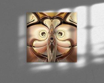 Phantasievolle abstrakte Twirl-Illustration 113/ von PICTURES MAKE MOMENTS