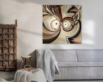 Phantasievolle abstrakte Twirl-Illustration 113/20 von PICTURES MAKE MOMENTS