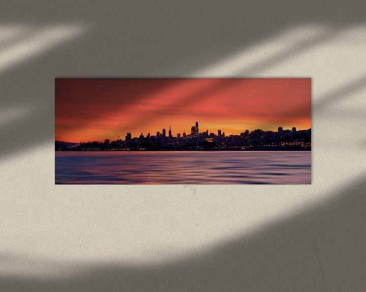 Impression: Le ciel de San Francisco sur Reinier Snijders