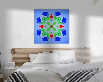Geometric composition #9
