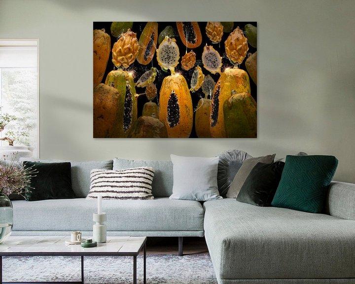Sfeerimpressie: Pitaya Papaya van Olaf Bruhn