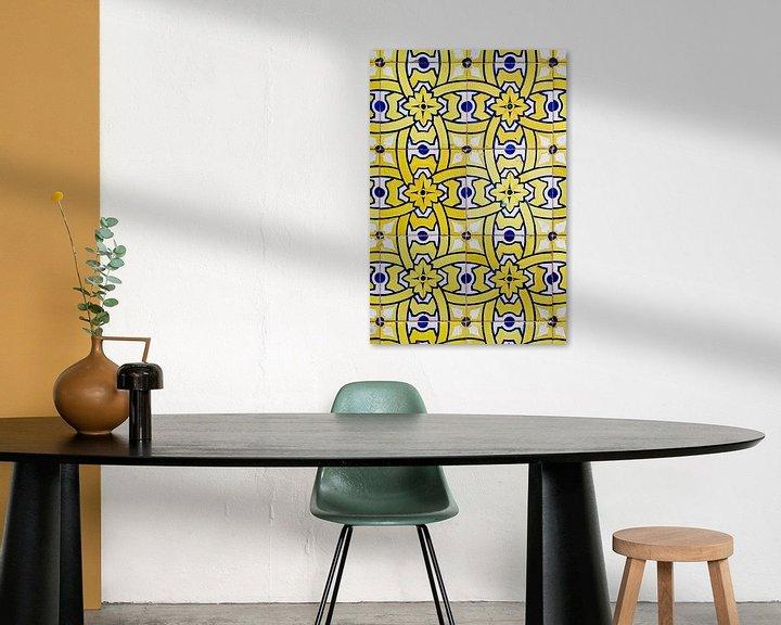 Sfeerimpressie: Azulejos van Dirk Rüter