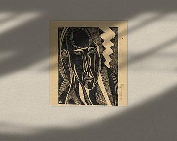 Modernes Porträt, Otto Freundlich